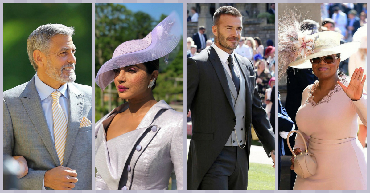 #StarStruck: The Celebrities Who Attended Prince Harry And Meghan Markle's Royal Wedding!