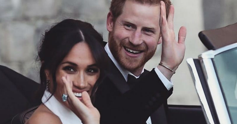 Mush Alert: 10 Of The Sweetest Moments From Prince Harry And Meghan Markle's Royal Wedding!