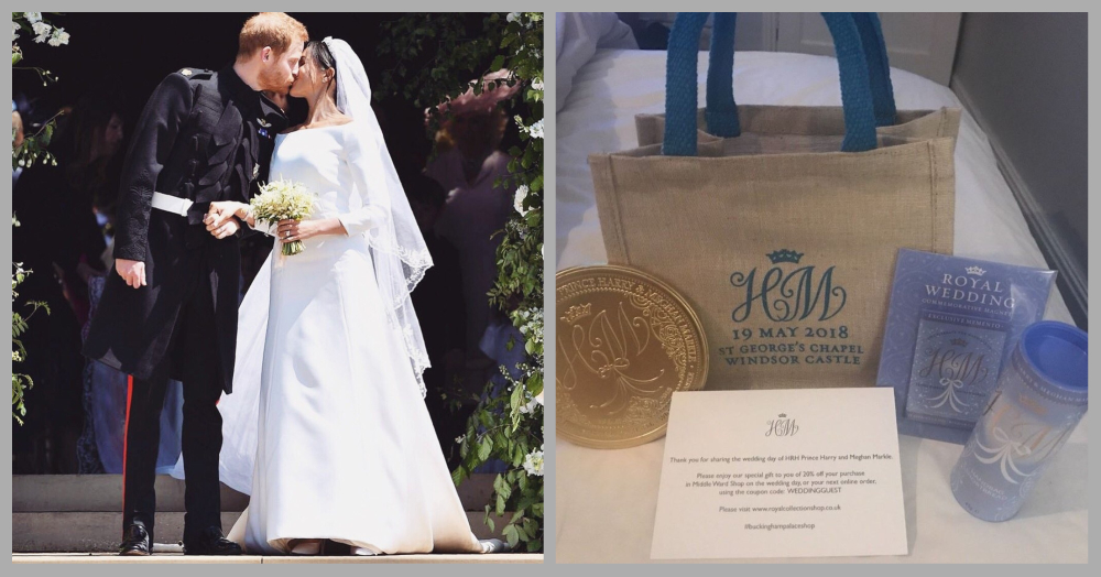 Royal Wedding Guests Are Selling Their Gift Bags On eBay For Rs 1,83,613!