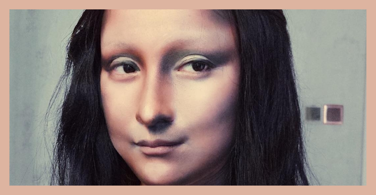 Makeup Is Art. Don't Believe Me? Watch This Woman Transform Into Mona Lisa