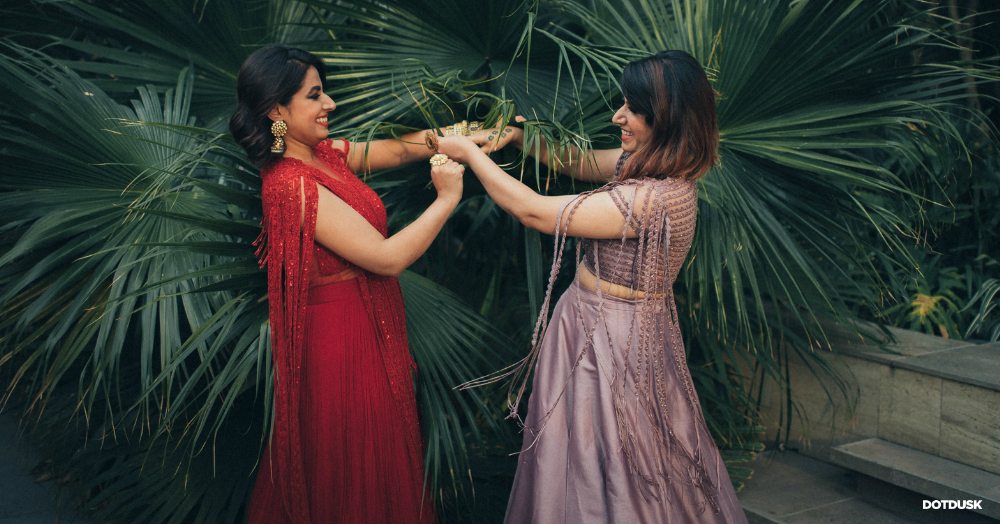 The Emotions That A Bride & Her Sister Go Through... This Photo Shoot Captures It All!