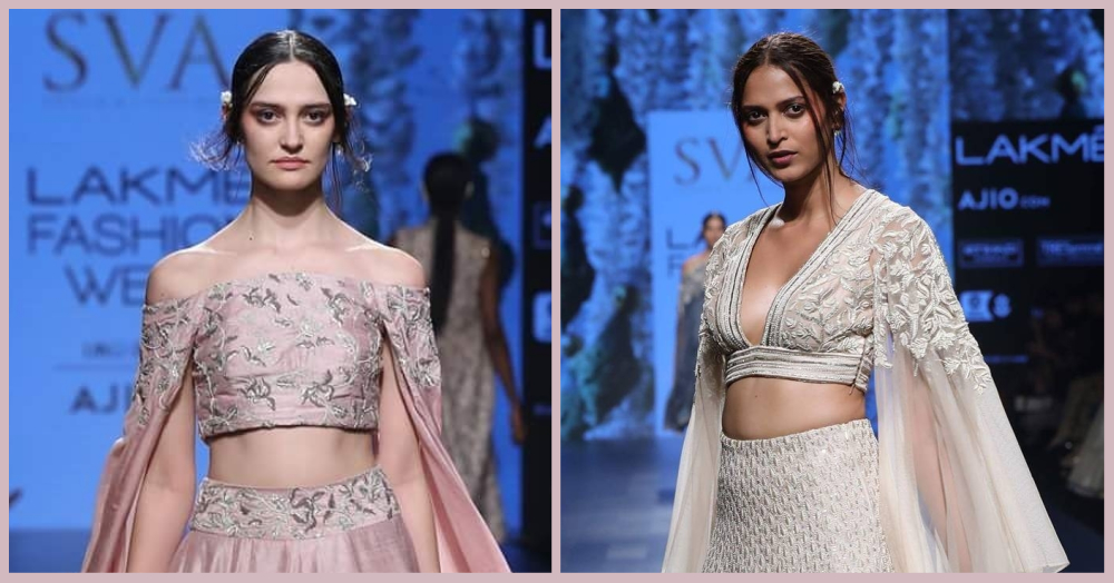 Conscious About Your Arms? Here Are 7 Outfits With Dramatic Sleeves For The Bride's Bestie!