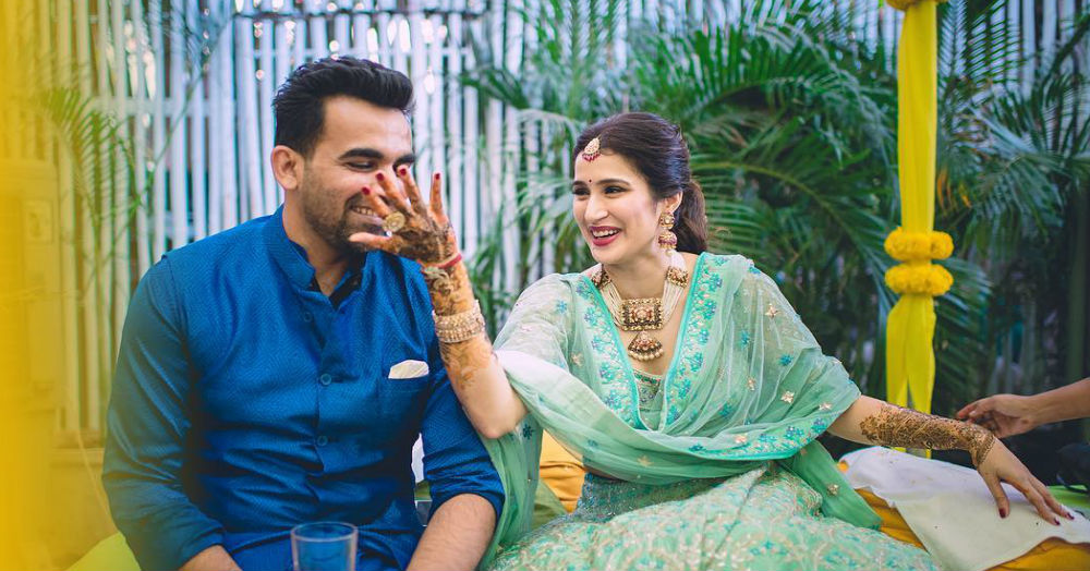 Sagarika And Zaheer's Mehendi Photos Are Finally Out And They Look Adorbs!