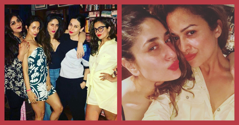 Girls Night Out: The Kapoor And Arora Sisters Had A Summer Lipstick Swatch PARTAY!