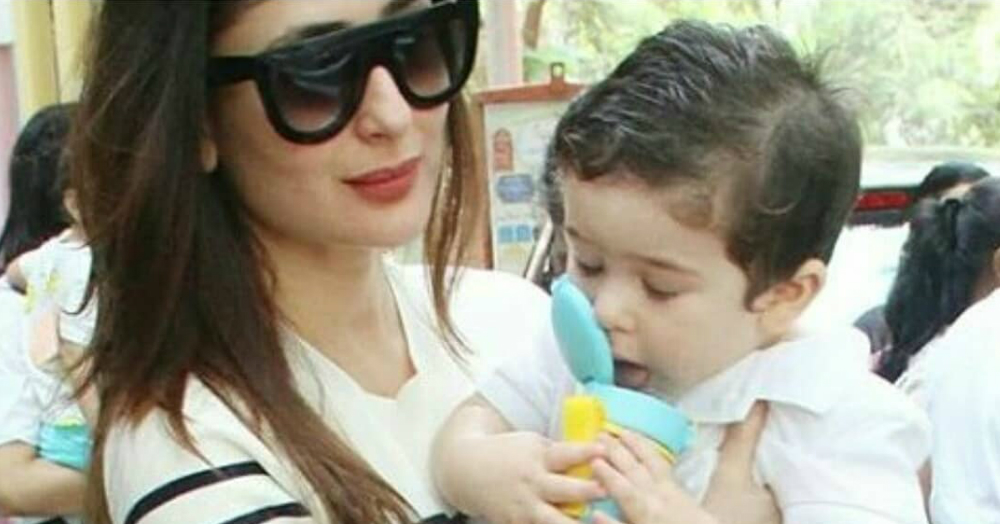 Taimur Ali Khan May Be Refusing To Enter His Playschool But He's Surely Learning New Words