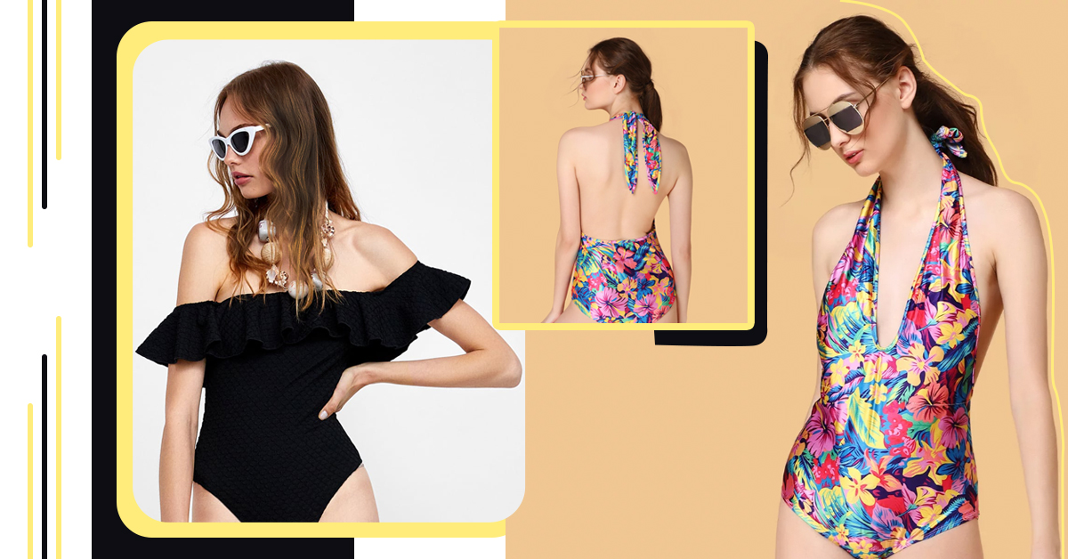 We Picked Out 8 Stylish One-Piece Swimsuits For The Bikini-Shy Girl