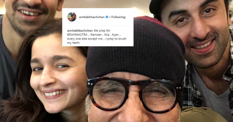 Amitabh Bachchan Called Ranbir* Ranveer And His Way Of Correcting It Is Every DAD Ever!