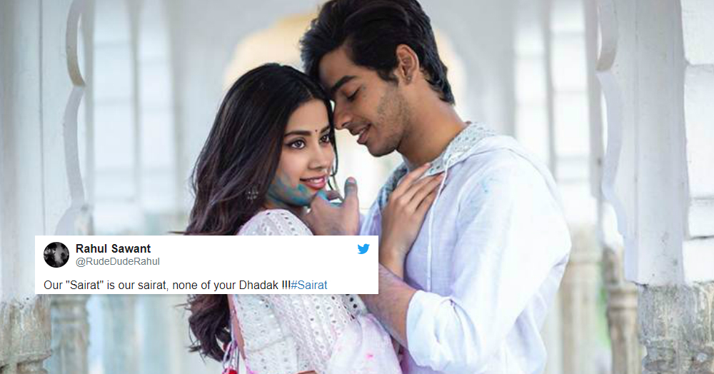 Twitter Savagely Tore Apart Dhadak's Trailer In A Heartbeat!