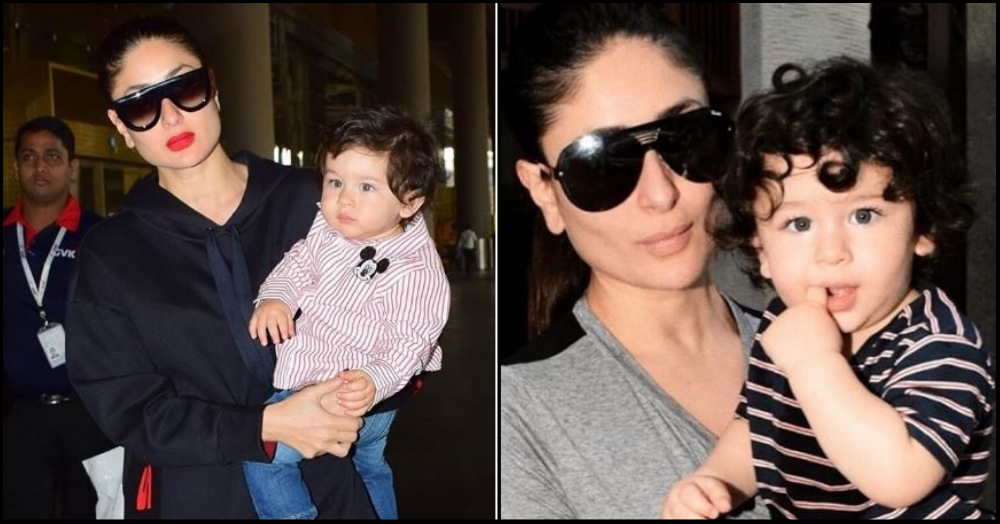 Here's What Mommy Kareena Thinks About Taimur's Paparazzi Love