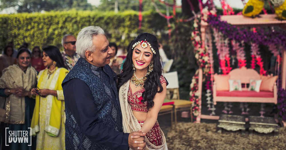 Father - Daughter Moments From The Wedding Day That'll Make You Hug Papa Right Away!