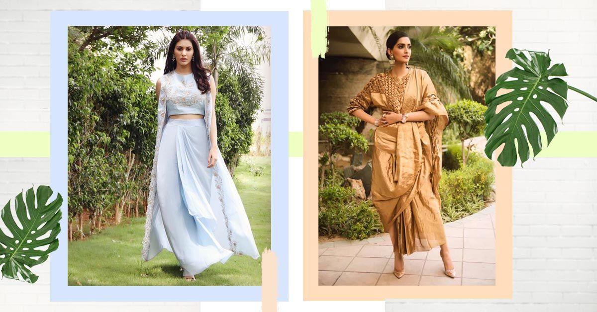 Alternative Drape Style Ensembles You Can Wear... None Of Them Are A Saree!