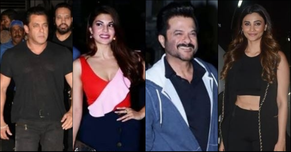 Varun Dhawan, Sonakshi Sinha, Ajay Devgn Attended Race 3 Screening To Root For Salman!