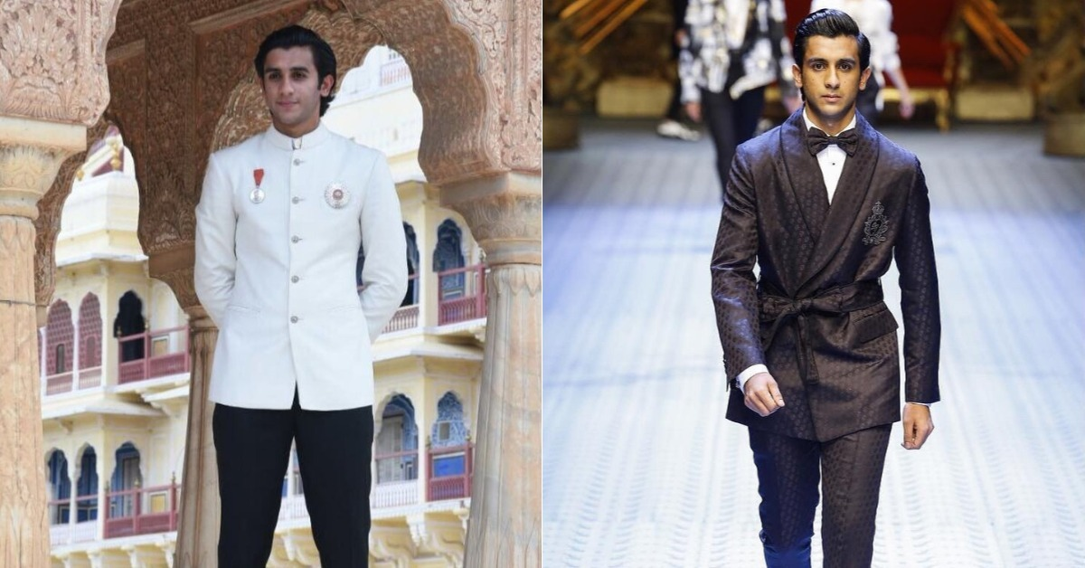This Indian Prince Walked The Runway For Dolce&Gabbana & Stole Our Hearts!