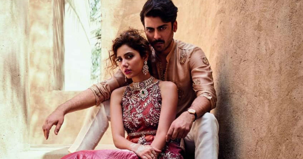 Dressed In Bridal Couture, Fawad & Mahira Are Setting Our Screen On Fire!