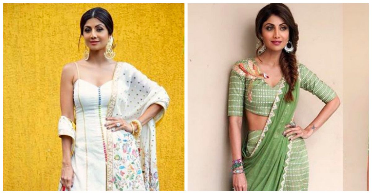 Shilpa Shetty's Desi Beauty Looks That Leave Us Drooling EVERY SINGLE TIME!