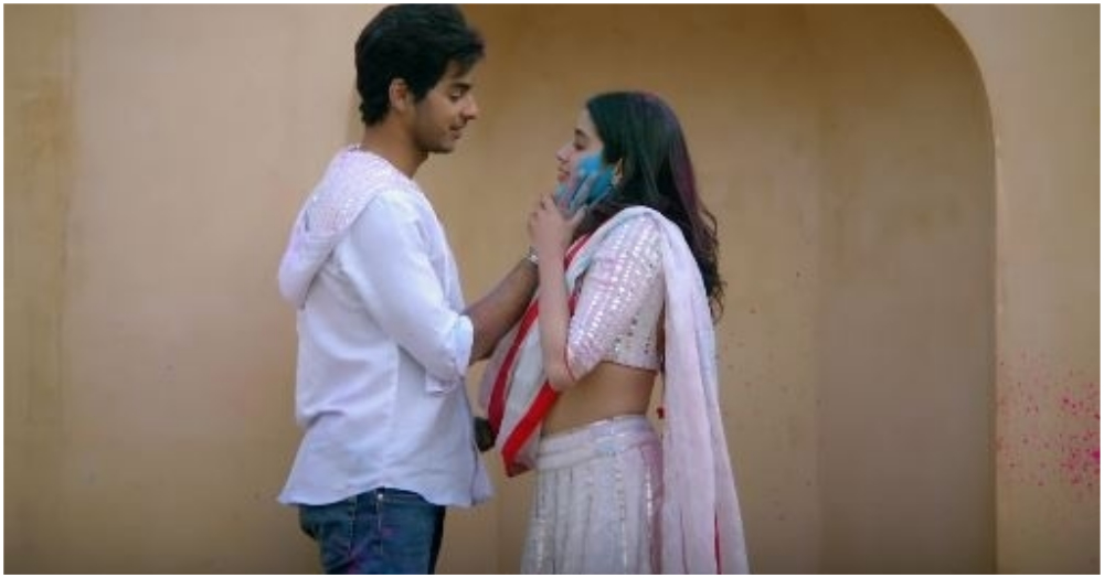 The Title Track Of Dhadak Is Out And It Single-Handedly Slows Down The Pace Of The Film
