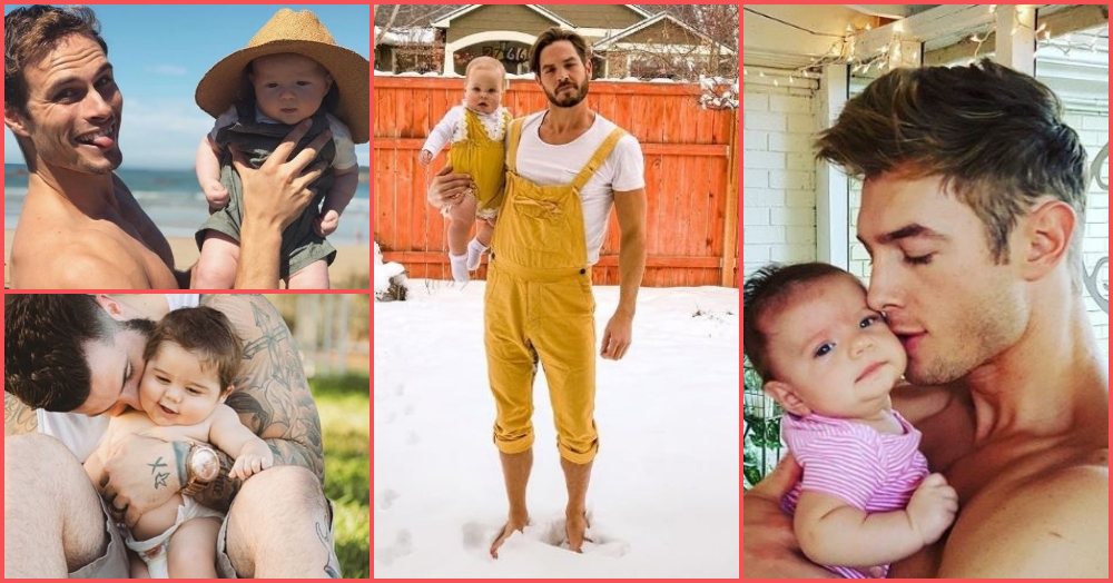 Cuteness Overload: These Men With Babies Are Making Us Drool!