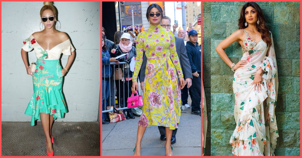 The Dusky Girl's (Celeb-Approved) Guide To Wearing All Kinds Of Floral Patterns This Summer!