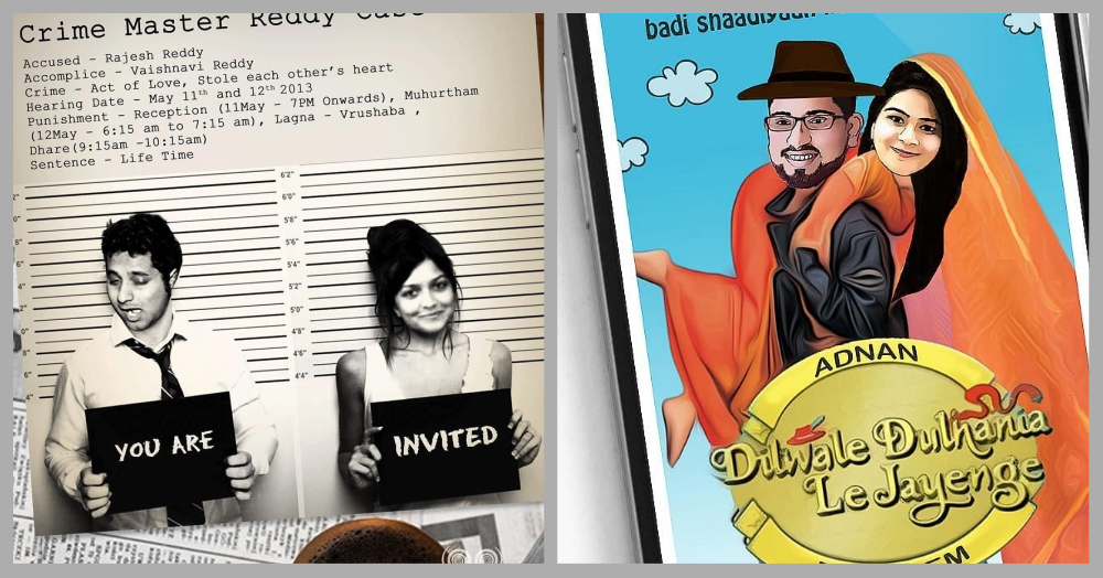 Wedding Invite Designs That'll Make Your Guests Say, 'I WANT To Go To This Shaadi!'