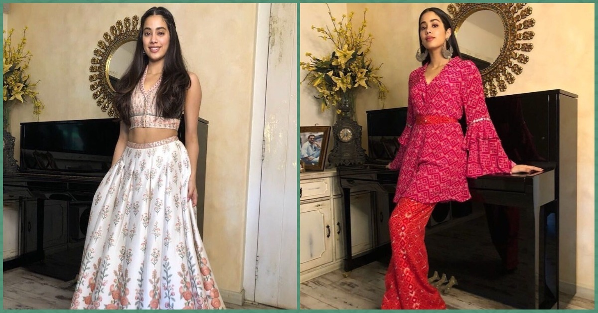Janhvi Kapoor Does Indianwear & Damn, She's Got Us Saving Screenshots For Future Inspo!