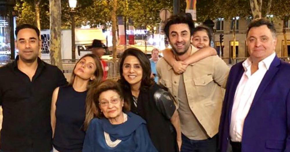 Here Are All The Unseen Pictures From Neetu Kapoor's Birthday In Paris