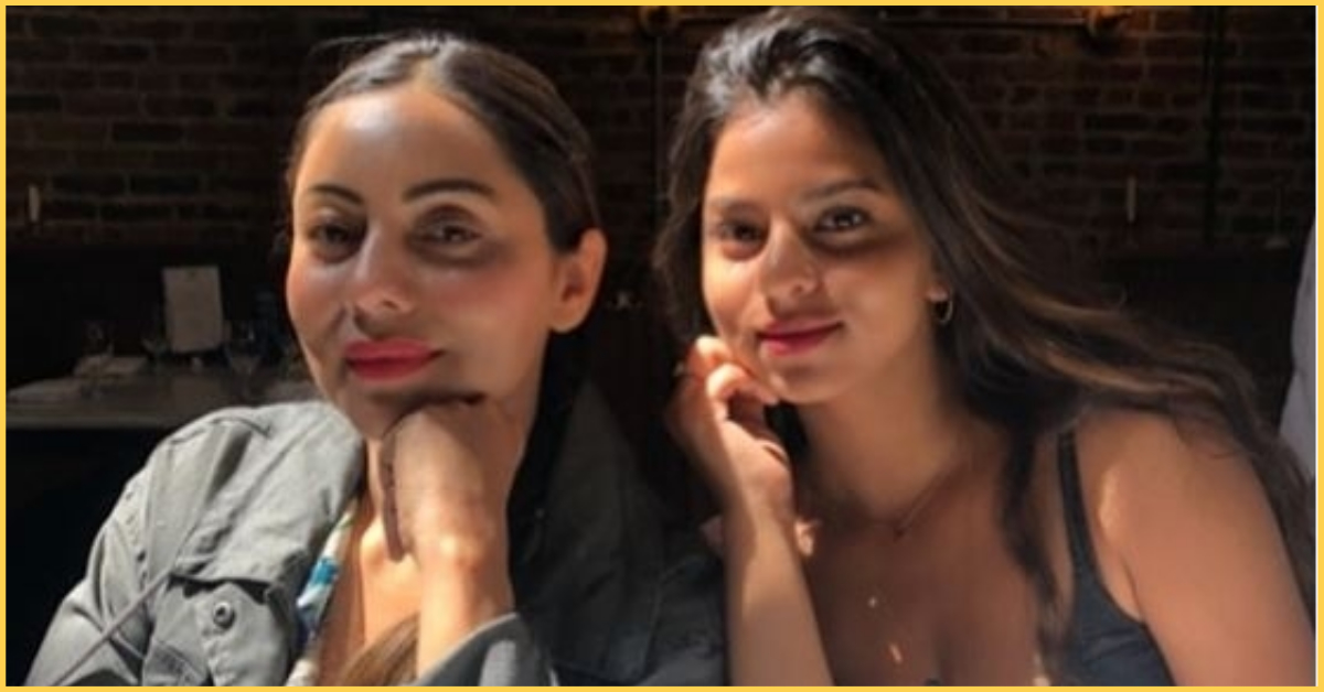 Suhana And Gauri Khan's Latest Picture Is Making Headlines...Literally!