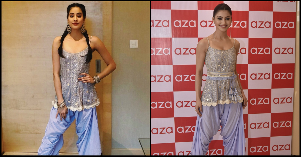 Janhvi Kapoor Does 'Ditto' With Urvashi Rautela! Who Wore It Better?