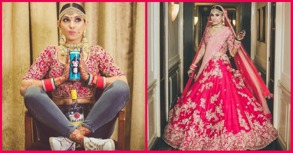 Beer, Push Ups And Sneakers: Delhi Girl Is A BrideChilla On Her D-Day!