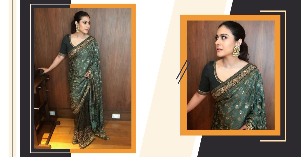This Exquisite Piece Is The One Outfit From Kajol's Closet Jo Hum Le Jayenge!