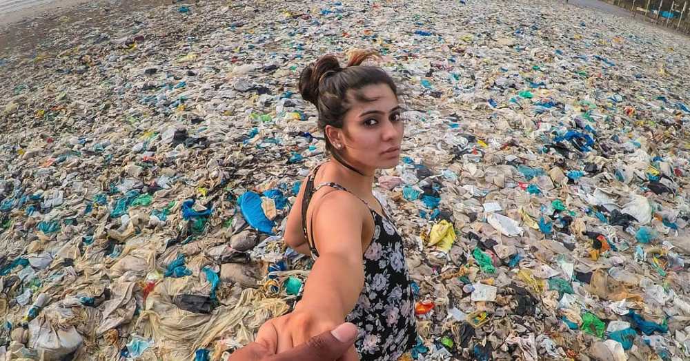 A Plixxo Influencer Photographed Trash & We Wish For An Immediate Ban On Plastic!