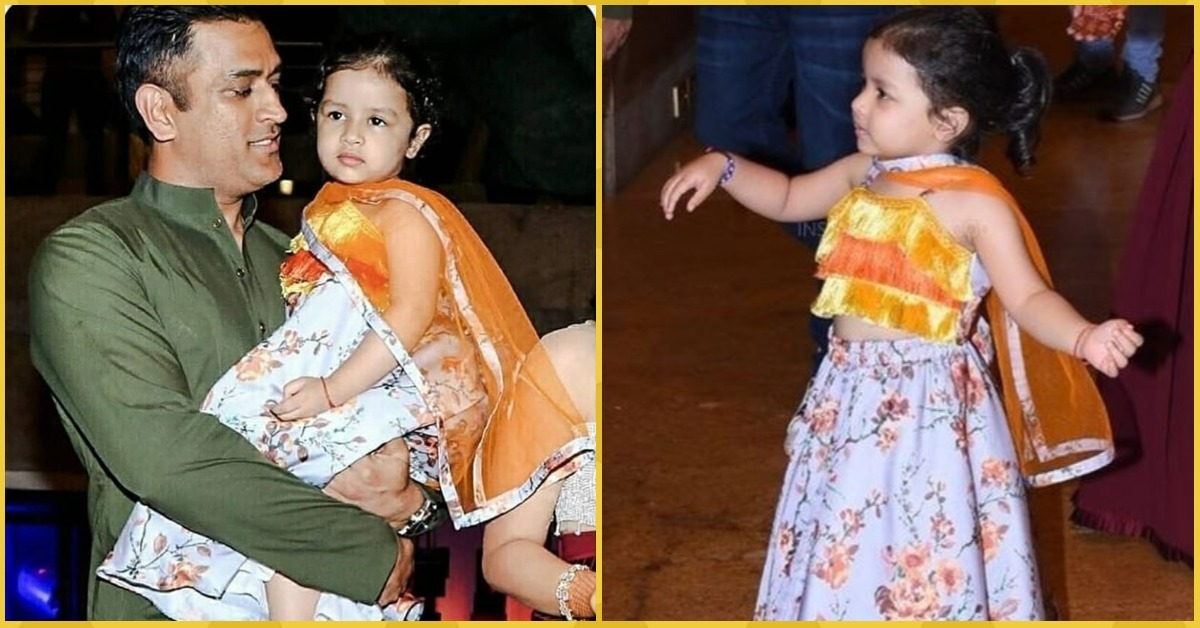 Ziva Dhoni Dancing At A Wedding Has Got To Be The *Cutest* Thing You'll See Today!