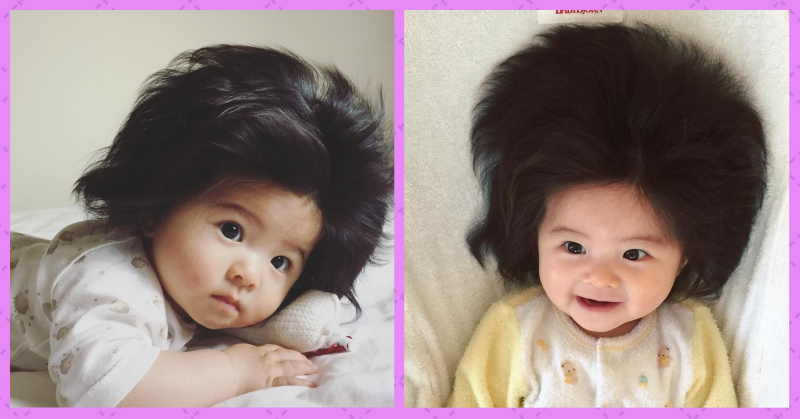 This Baby's Instagram Is Going To Give You #HairGoals And A Complex At The Same Time!