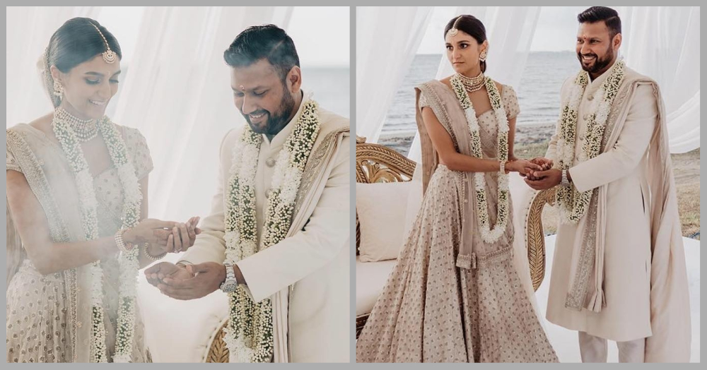 An All-White Wedding At Fiji Islands With The Same Dreamy Virushka Vibe