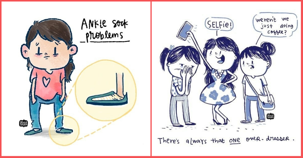 10 Alicia Souza Illustrations That Are So Relatable If You Wear Any Kind Of Clothes At All!