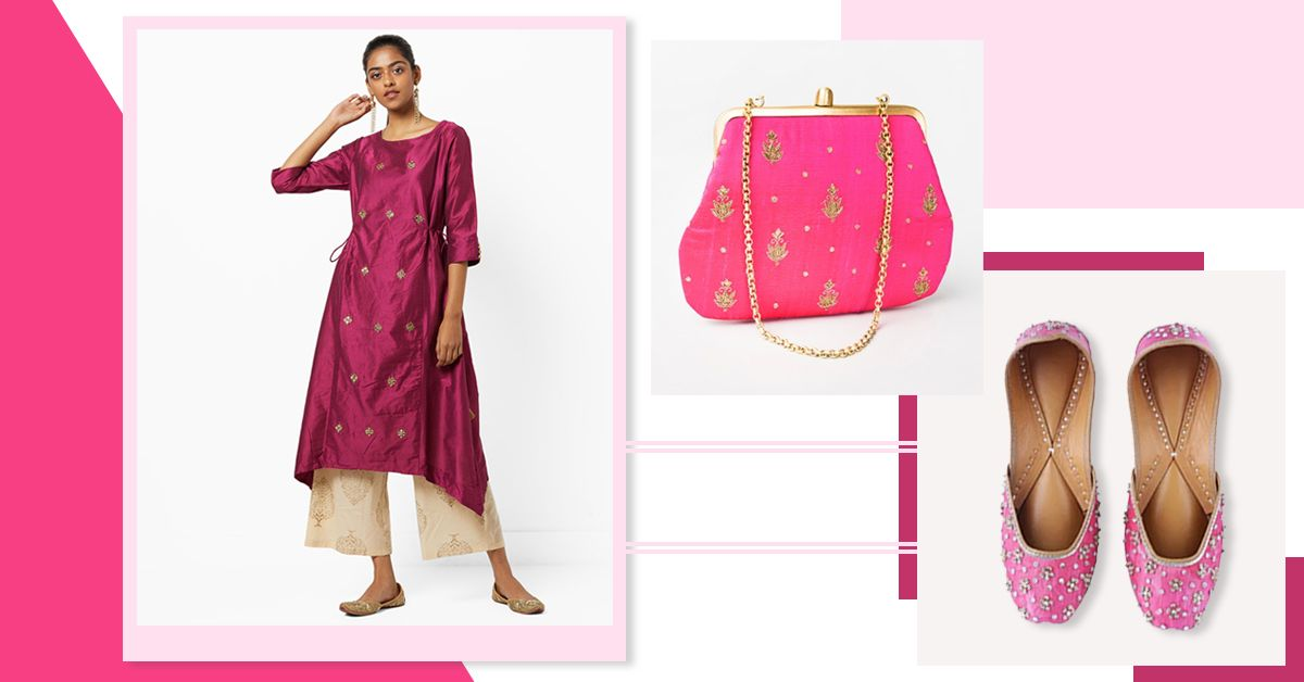 8 Pink Desi Pieces You'll Want To Wear Every Single Day & Not Just On *Wednesdays*