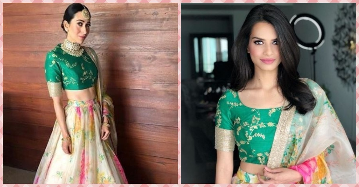 This Bride Wore The Same Sabyasachi Lehenga As Karisma & We Can't Decide Who Looked Better!
