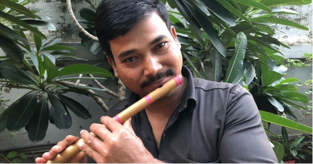 This Security Guard's Love For His Flute Will Inspire You To Find Your Passion