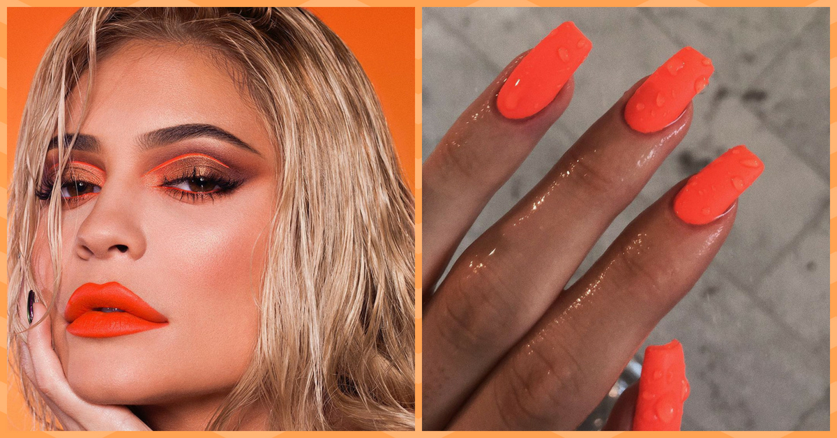#NailsOfTheDay: Book Your Manicure Sesh, These Kylie Jenner Inspired Nails Are Everything!