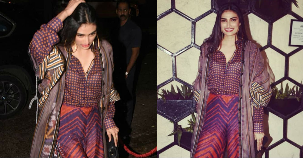 Athiya Shetty Went To A Birthday Party And Redefined 'Fine Print' For Us
