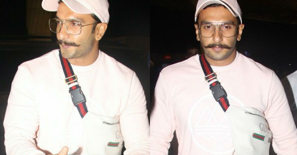 Ranveer Singh Shows Us The Only Way A Bum Bag Should Really Be Worn