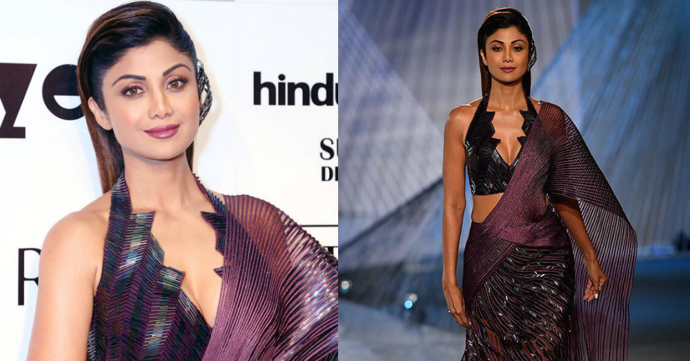 *Chura Ke Dil Mera*: Shilpa Shetty Kundra Stole The Show In A Statement Saree
