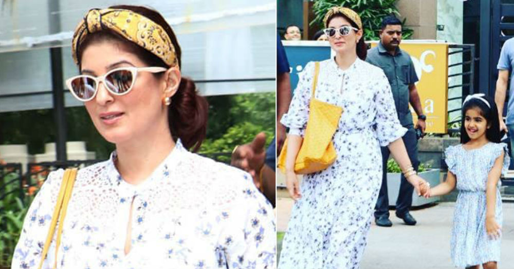 *Twinkle Twinkle* What A Star: Mommy Khanna Nails City Dressing With Daughter Nitara!