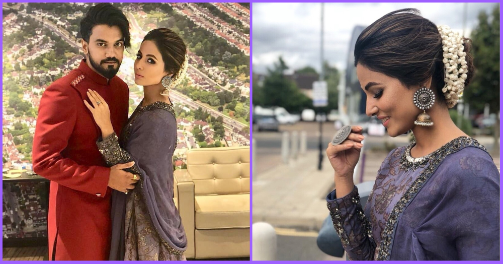 Gajra Mohabbat Wala: Hina Khan Is Turning The London Sky Violet With Her Desi Swag!