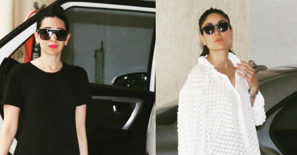 Bebo & Lolo In Black & White Look So Good, We're Going *Amen, Sistahs!*
