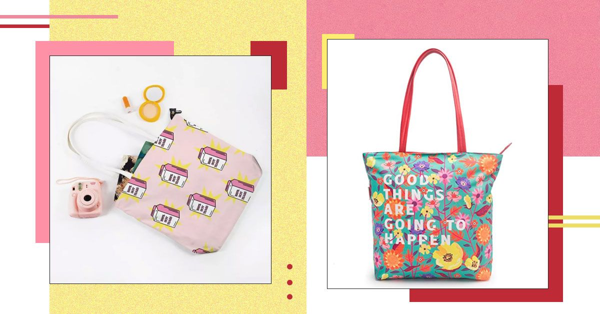 7 Cute Tote Bags You Would Love To Buy Before They Go Out Of Stock