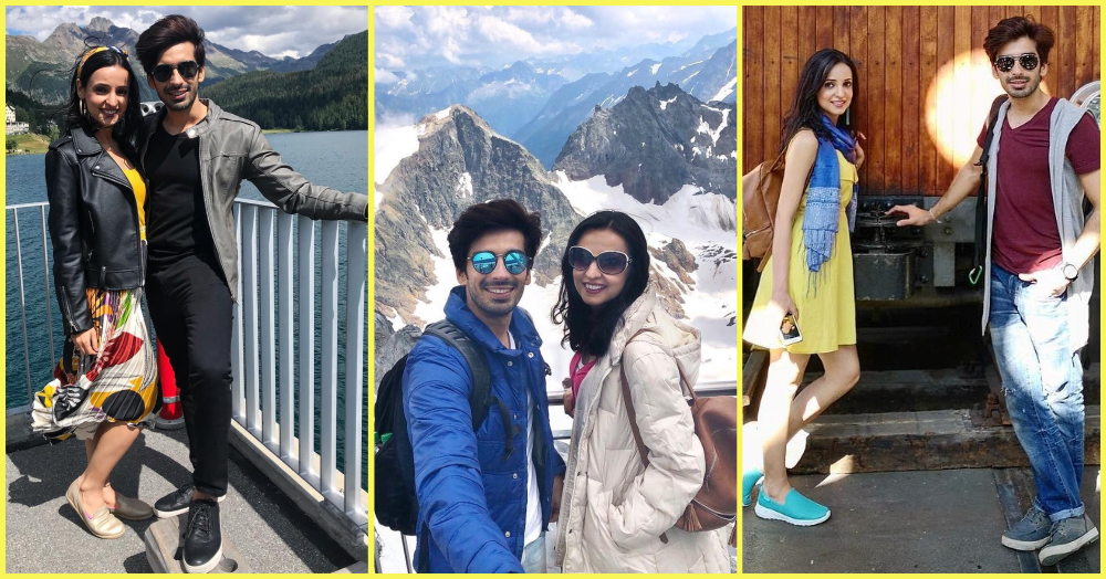 Sanaya Irani And Mohit Sehgal's Vacay Outfits Are Prettier Than Switzerland!