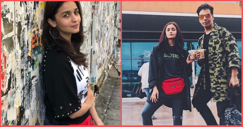 Who Needs A Six Pack When You've Got A Fanny Pack? Alia Bhatt Brings Out Her Brahmastra In Style