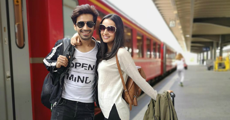 Sanaya & Mohit Recreated This Iconic DDLJ Scene During Their Swiss Holiday!