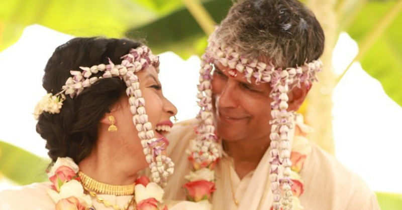 #TheStoryOfLove: Milind Soman's Wife Ankita Reveals How The Two Met & Fell In Love!