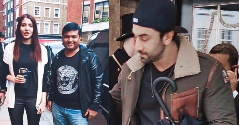 Ranbir Kapoor Is Chilling With Anushka Sharma & Virat Kohli In England
